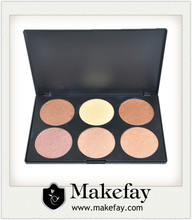 Makefay new arrival high pigment contour and bronzer makeup palette