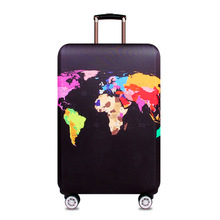 Wholesale high elasticity protective spandex luggage cover protector