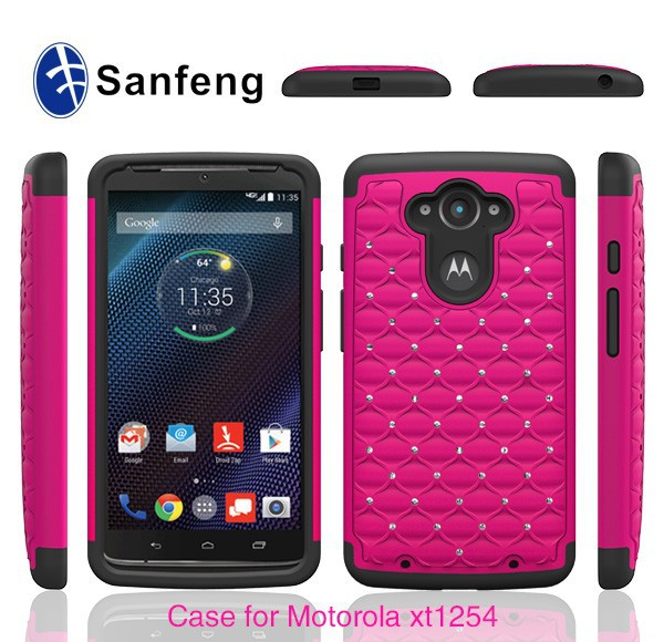 11.2mm 10.4mm Version Available For Motorola Droid Turbo Moto XT1254 Case Cover