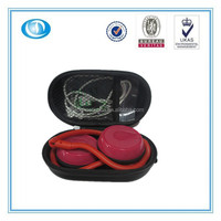 fashionable EVA earbud carrying case for mini headphone