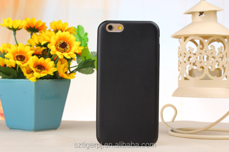 New Genuine Original PU Leather Soft Back Cover Case For Apple iPhone 5/6/6 Plus