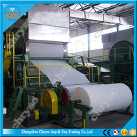 Hot Sale Small Paper Recycling Machine For Producing Toilet Tissue Paper