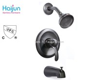 Oill rubbed bronze surface finished shower water faucet sets