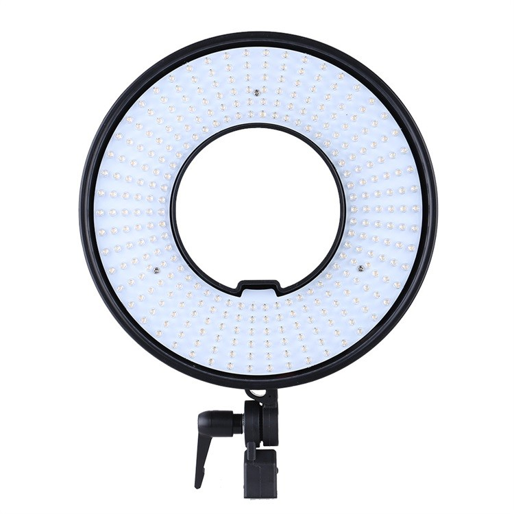 300 Ring LED Panel 3000K-7000K Film Shooting Continuous Light W Camera Bracket DVR-300DVC LED Photography Ring Light 1.jpg