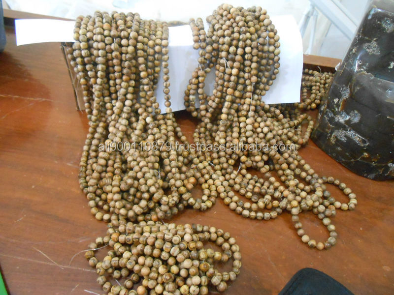8 mm 108 Round Beads Agarwood oudh West Kalimantan