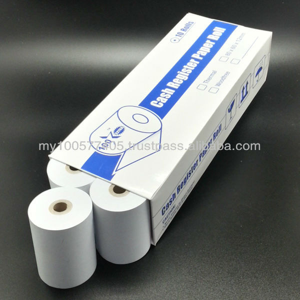 High Grade- Extra White Dark Image -Thermal Paper Roll