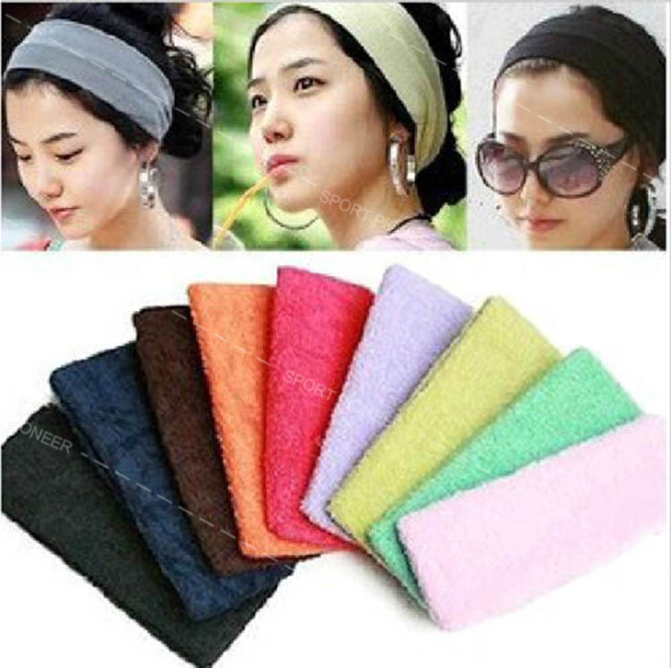 hot sale sport elastic yoga hair headband