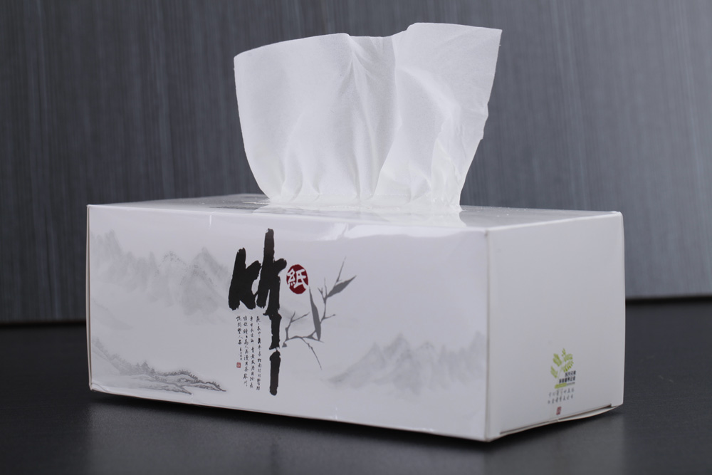 High Class Chinese Bamboo Box Tissue Paper