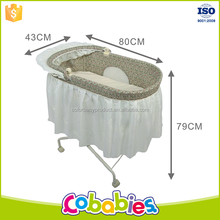 Hot Sell 2 in 1 0-3 months swing baby rocking bed,baby swing bassinet