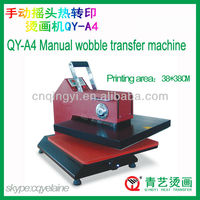 CE certificate QY-A4 High Pressure Wobble Heat press printing machine Transfer machine