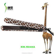 PTC Heater hair straightener with different animal painting water transfer