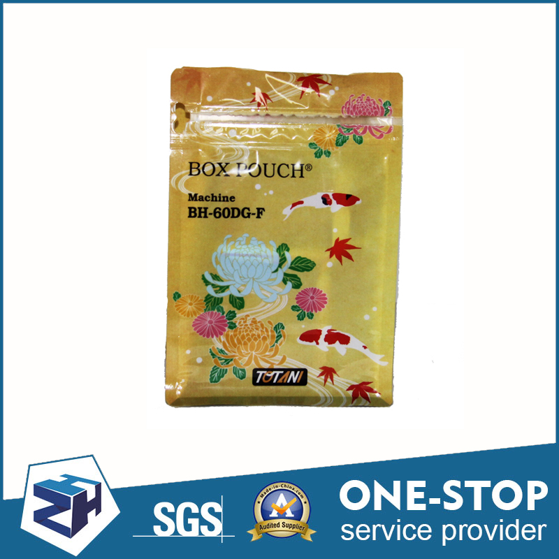 PET/CPP plastic fruit food protection packaging zip bag waterproof