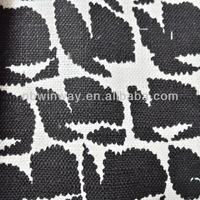 linen/cotton blend print fabric for apparel