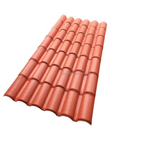 Factory price anti-UV plastic upvc heat insulatin roofing sheet / synthetic resin anti corrosion roof tile