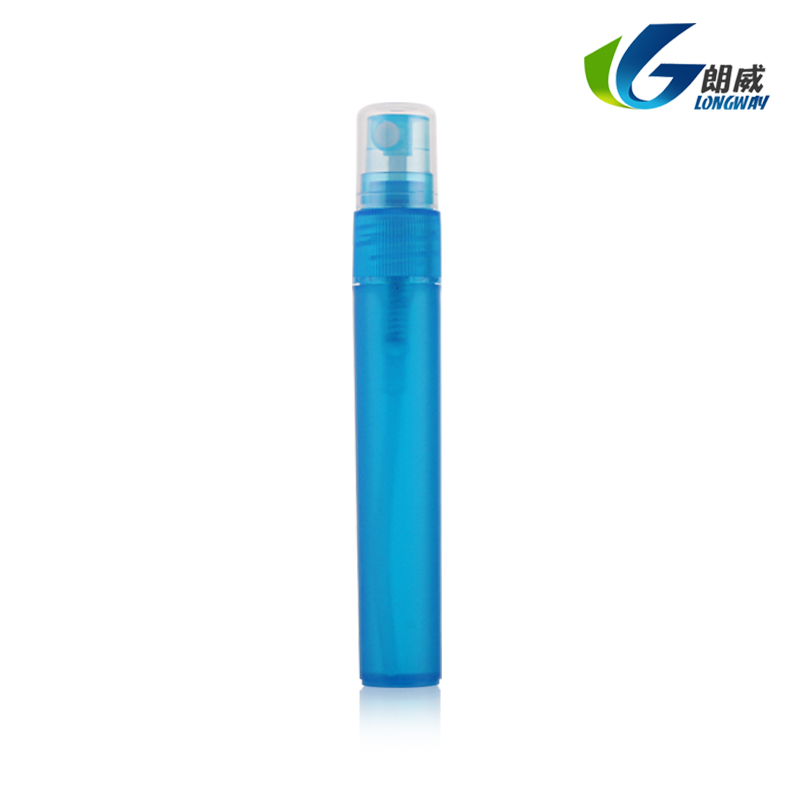 Popular plastic PP pen perfume spray bottle with high quality