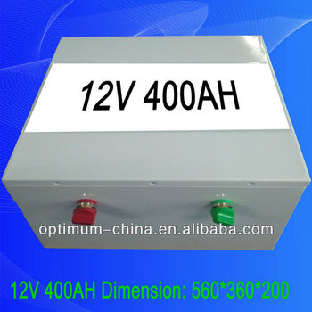 12v 400ah lifepo4 battery for trolling motor