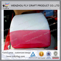 Advertising Car Head Rest Cover, Car Seat Cover