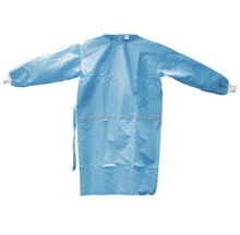 High quality disposable PP/PP+PE/SMS/SMMS/Spunlace surgical gown