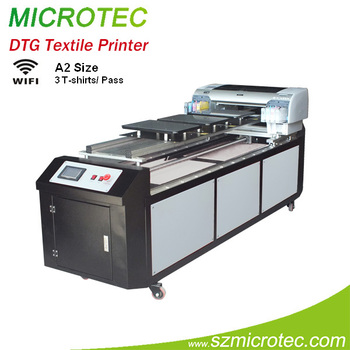 Direct To Garment Printer Textile Printer Dtg Printer