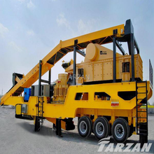 China good quality supplier 100tph mobile gyratory crusher for sale with competitive price