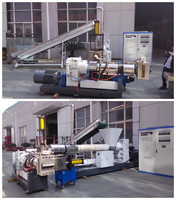 top quality two stage plastic recycling machine/granulator supplier