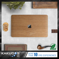New design! original wooden grain color skin sticker for macbook