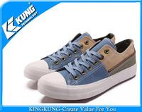 Jean's vulcanized canvas shoe rubber shoes for women