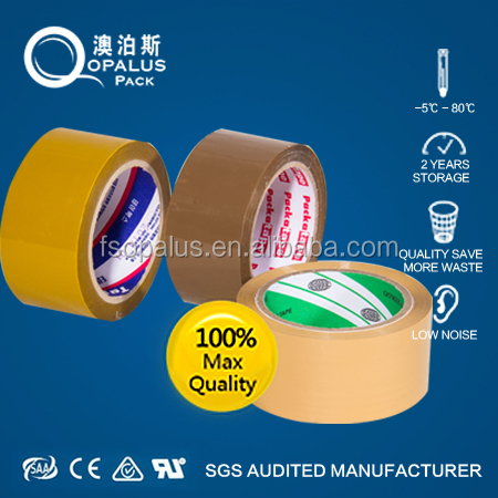 76Mm Paper Core High Strength Parcel Packing Transparent Bopp Adhesive Tapes