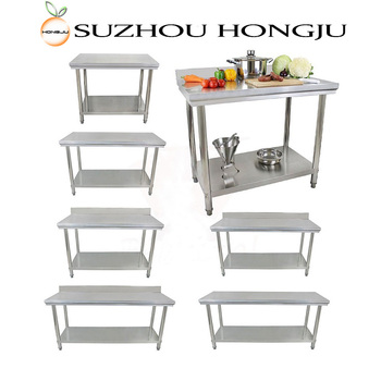 201ss Square Kitchen Table for commercial kitchen restaurant