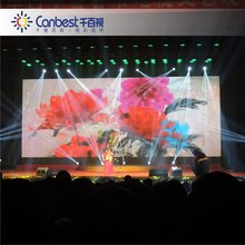 CANBEST ultra bright rental indoor led display big screen