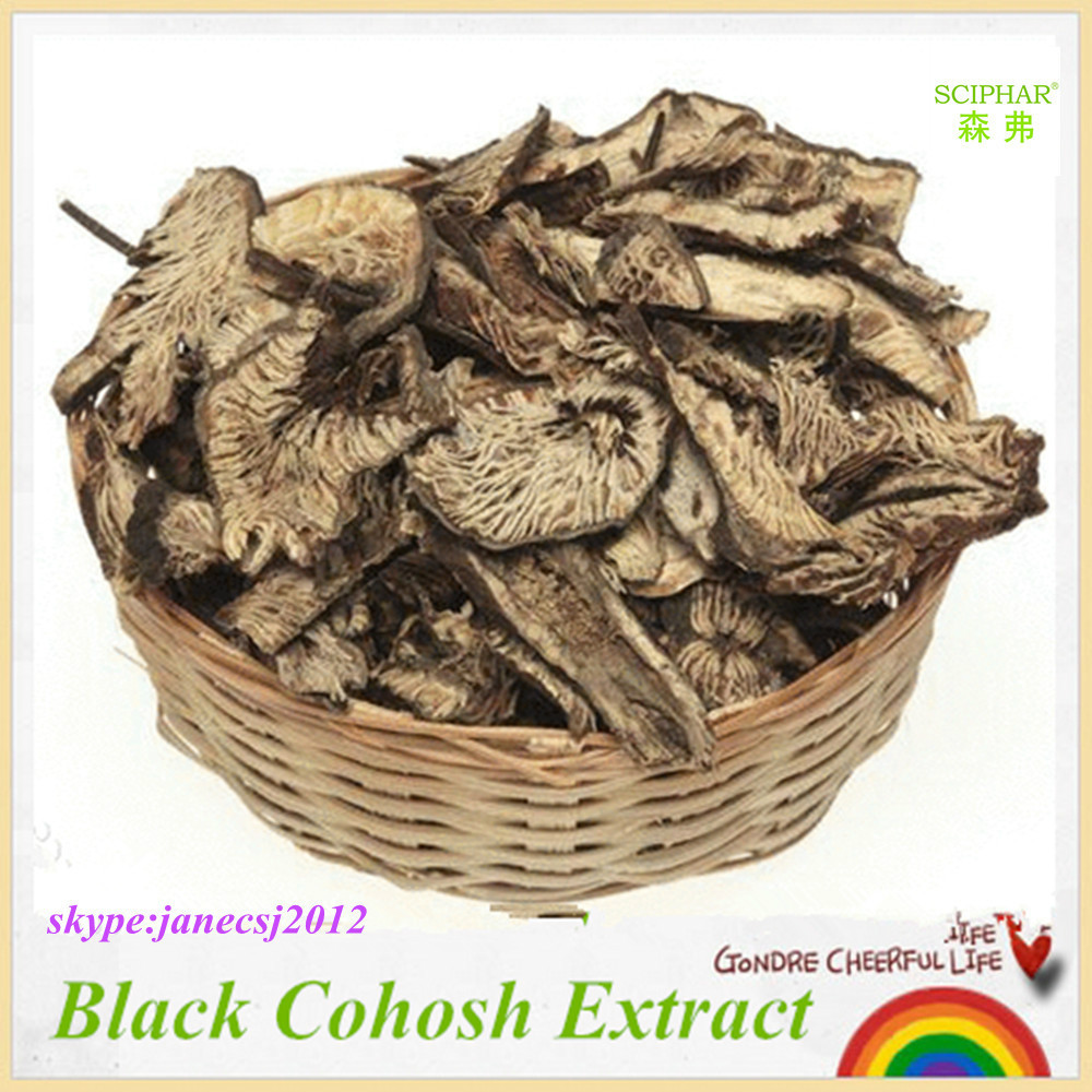 Women Products High Quality 100% Natural Extract Black Cohosh Extract 2.5%Saponins