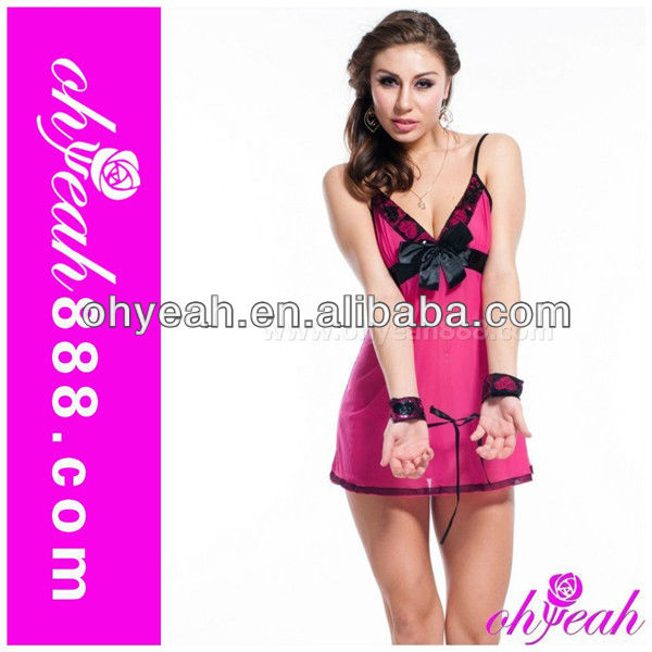 2015 Paypal accept valentine day sexy lingerie adult sex clothes nighties for women