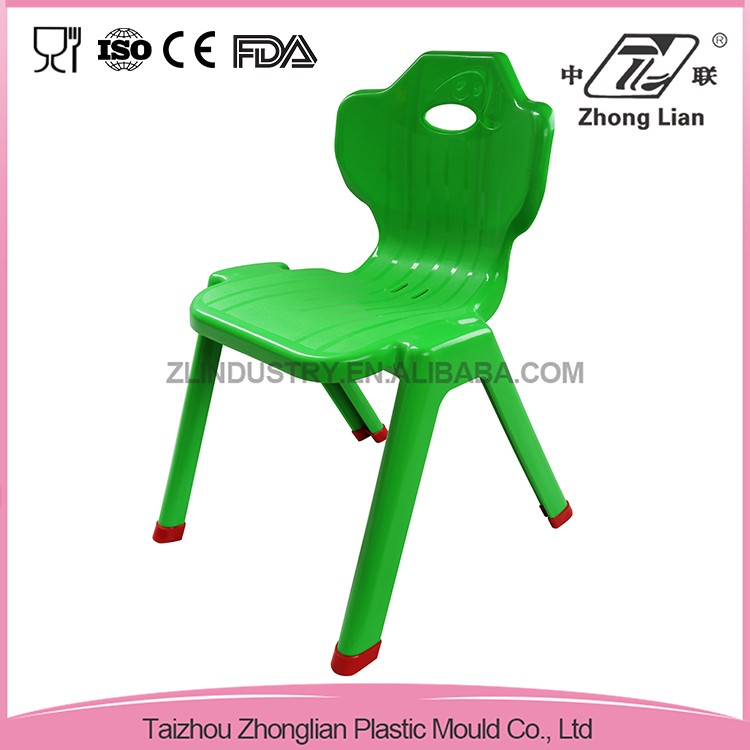 Plastic material cheap stackable school furniture chair