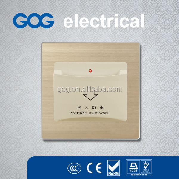 Key Card Energy Saver Hotel Switch,Hotel Power Card Switch Socket
