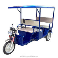 electric tricycle for handicapped passenger electric auto rickshaw tuk tuk