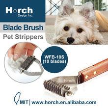 Fantastic Easy Pet dog Grooming with Wooden Handle DeShedding