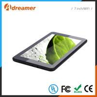 Accept OEM wholesale 1g ram 8g quad core tablet pc 7 inch