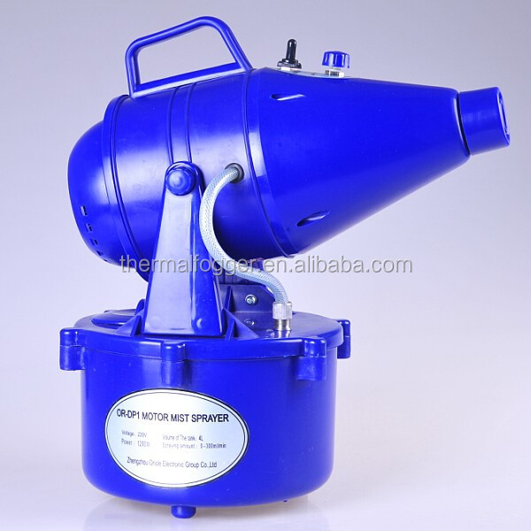 Electric Motor Pest Control Cold Fogging Machine for Disinfection