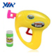 Child plastic blowing bubble soap toy gun for kids summer game