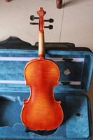 (FV-10E) natural flame violin cheap violin