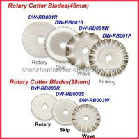 wholesale high quality fabric round rotary cutter blade