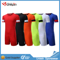 2017 18 new custom football jerseys bulk cheap soccer jersey with short