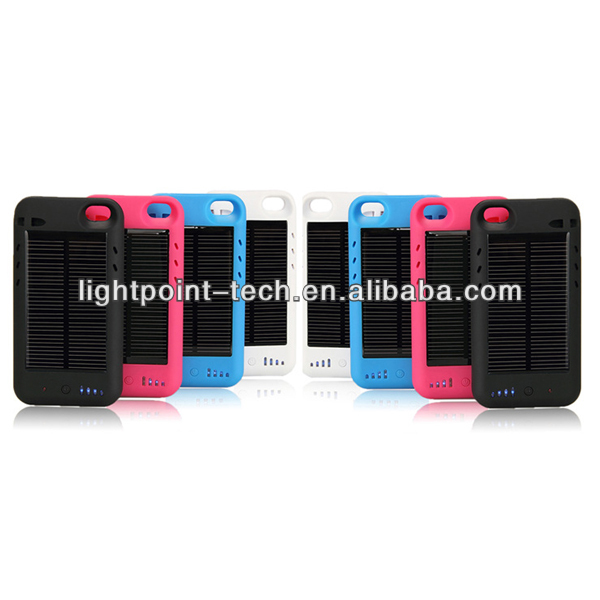2013High quality portable mobile solar charger for iPhone5