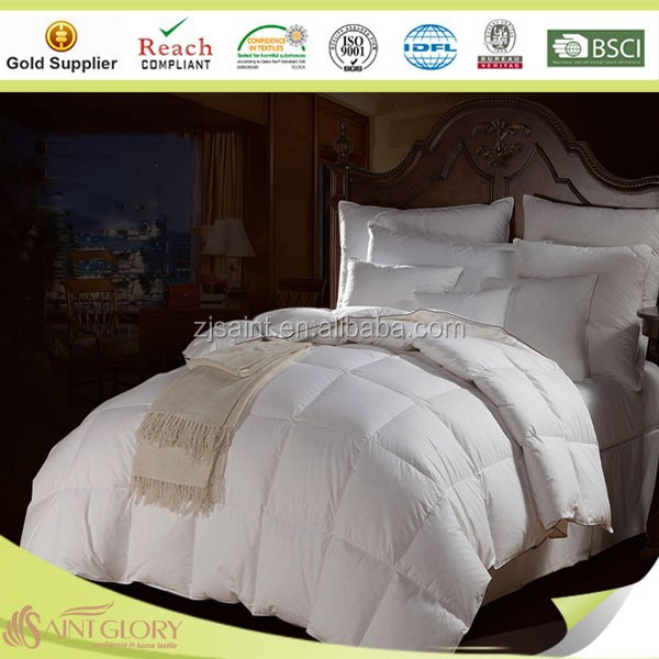 Professional Factory White Goose Down Feather Duvet Wholesale Duck Down Feather Duvet