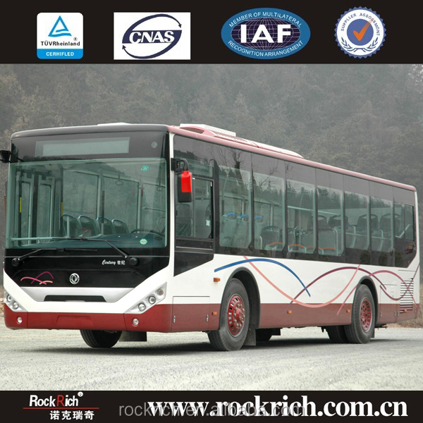 Dongfeng new design luxury bus low price city sightseeing bus for sale