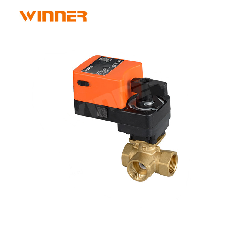 220Volt motor operated water flow control electirc control ball valve