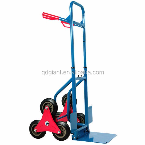 Stair Climbing 6 Wheels Hand Trolley