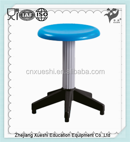 China factory school furniture pp plastic stool chair for import furniture from china