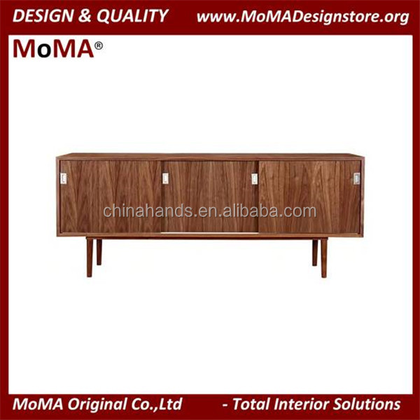 MA-MD64 Modern Wooden Side Storage Laminate TV Cabinet