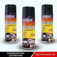 car anti-aging dashboard and leather cleaner wax polish